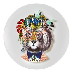 Love Who You Want - IndiLion Dessert plate, 23cm, white