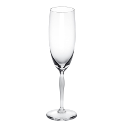 100 Points Pair of Champagne flutes, H23.8cm - 20cl, clear