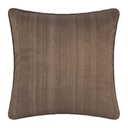 Silk cushion, 45 x 45cm, mocha