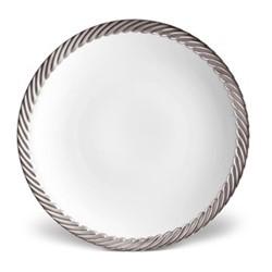 Corde Dessert plate, 22cm, platinum