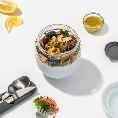 Porter Lunch bowl, H12 x W11cm, Mint