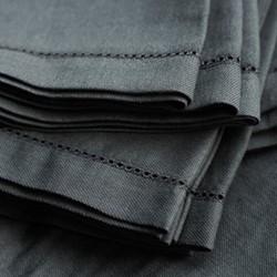 Tablecloth, 280 x 180cm, olive grey