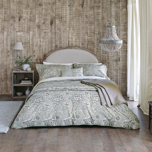 Wandle Single duvet cover, L200 x W140cm, Grey