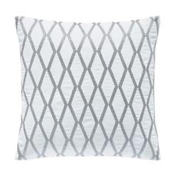 Belvedere Cushion, L40 x W40 x H10cm, platinum
