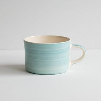 Plain Wash Set of 6 mugs, H7 x W10.5cm, turquoise