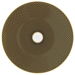 Tresor Dessert plate, 22cm, Brown