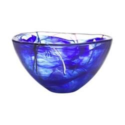 Contrast Bowl, D23cm, blue