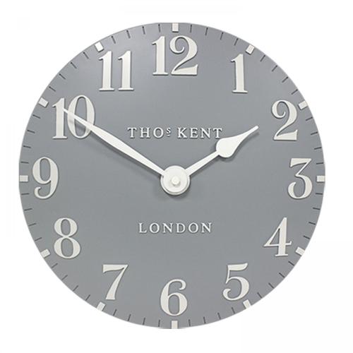 Arabic Wall clock, Dia51cm, Flax Blue