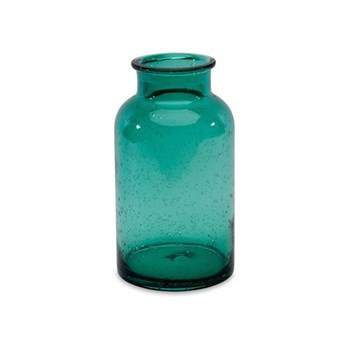 Toska Medium vase, D23 x 13.5cm, teal