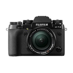 X-T2 Mirrorless camera with 18-55 mm f/2.8-4 lens, 24.3MP