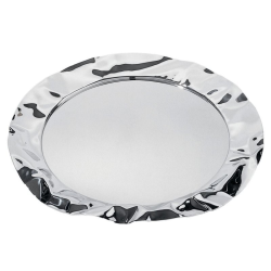 Foix by Lluis Clotet Round tray, 44cm, stainless steel