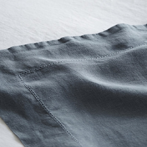 King size flat sheet, 270 x 270cm, Toulon Dove Grey