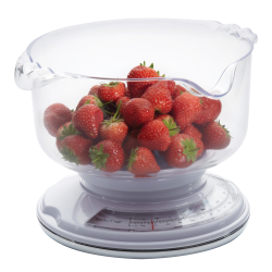 Add 'n' Weigh Mechanical kitchen scales with weighing bowl, 3kg
