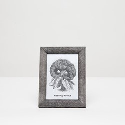 "Oxford Photograph frame, 5 x 7"", cool gray"