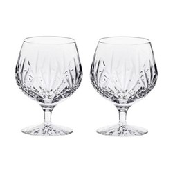 Highland Pair of brandy glasses