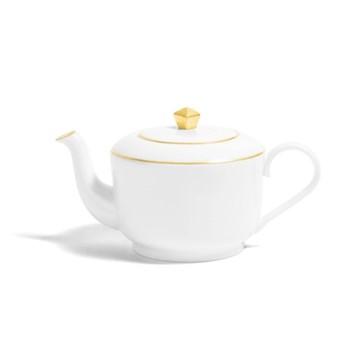 Line - Colour Large teapot, H12cm - 700ml, metallic gold