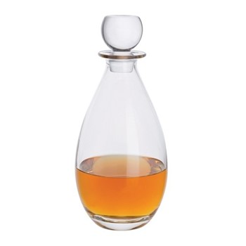 Whisky Tall decanter, H26cm - 1Ltr, clear