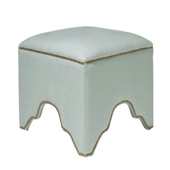 The fauntleroy stool, blue