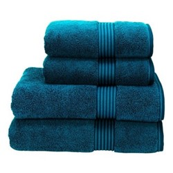 Supreme Hygro Pair of hand towels, L50 x W100cm, kingfisher