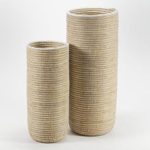 La Prairie Tall basket, H26 x Dia65cm, Natural