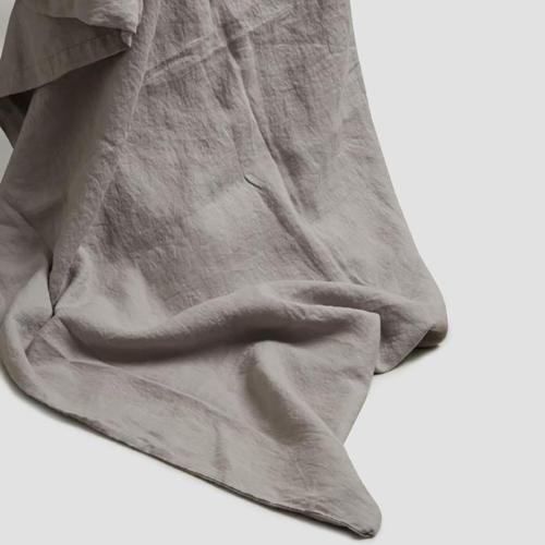 Super king duvet cover, 220 x 260cm, Dove Grey