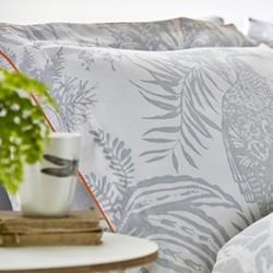 Toco Standard pillowcase, L48 x W74cm, silver