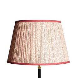 Block printed lampshade 45cm