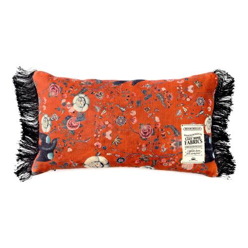 Black Bird Rectangular cushion, L50 x W30cm, Multi
