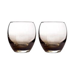 Halo/Praline Pair of small tumblers, 35cl