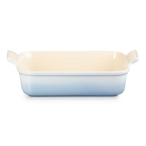 Stoneware Rectangular dish, 26 x 19cm - 2.3 litre, Coastal Blue