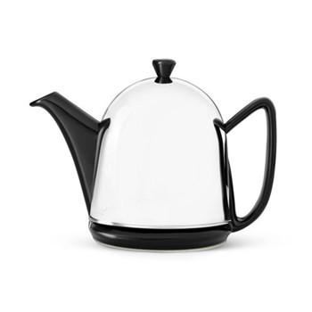 Manto Teapot, 1 Litre, black