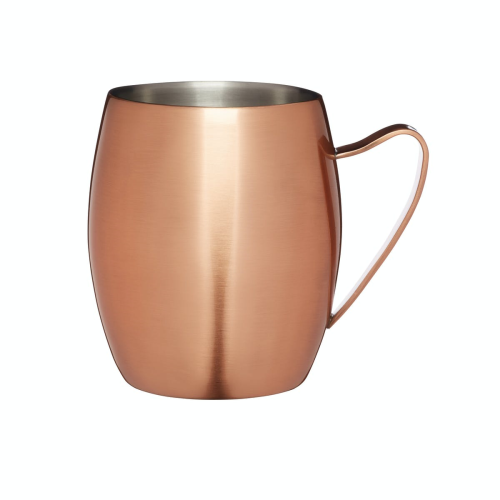 Moscow mule mug, 550ml, Double Walled Copper Finish