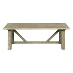 Stanway Rectangular coffee table, L130 x H45cm, teak