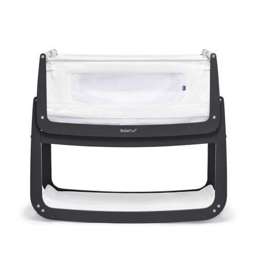 SnuzPod Bedside Crib, H49 x W95cm, Slate