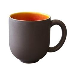 Tourron Natural Mug, 30cl, orange