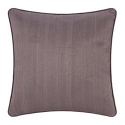 Silk cushion, 45 x 45cm, mauve