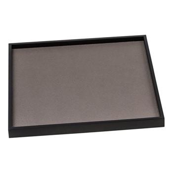 Phorma Square tray, 32cm, mud