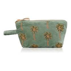Kenya Collection - African Palmier Mini pouch, 16 x 10cm, khaki