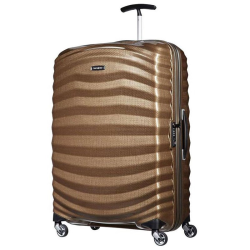 Lite-Shock Spinner suitcase, 81cm, sand