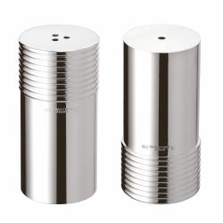 K+T Salt and pepper set, Christofle silver