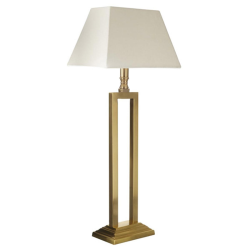 Space Table lamp - base only, 26 x 23cm, Brass