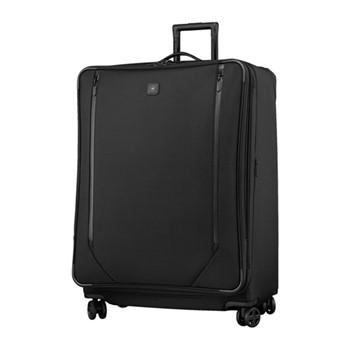 Lexicon 2.0 Extra large dual caster suitcase, H79 x W62 x D39cm, black