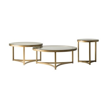 Large coffee table H40 x D100cm