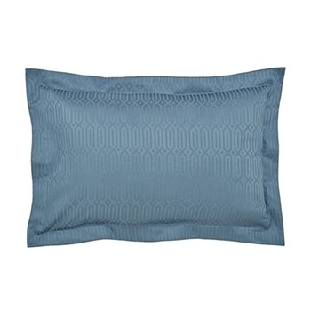 Rivage Oxford pillowcase, L48 x W74cm, blue
