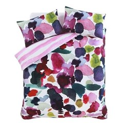 Abstract Single duvet cover set, L200 x W135cm