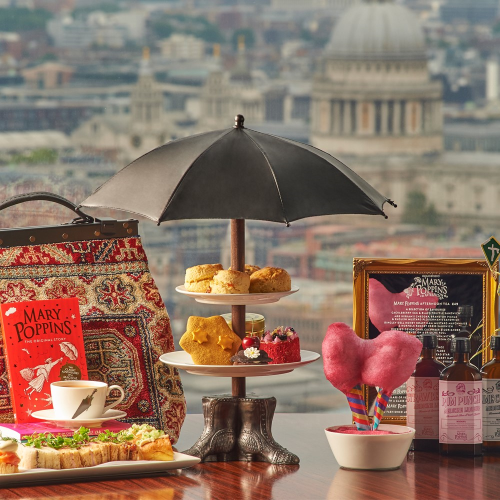 Afternoon tea for two at The Aqua Shard