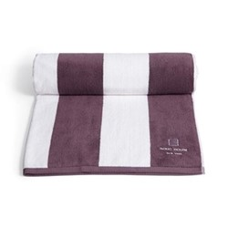 New York House pool towel, purple