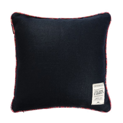 Riverside Square cushion, L50 x W50cm, Black