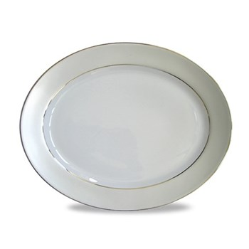 Oval meat dish 34.5cm