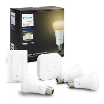 Philips Hue - E27 Smart Bulb Starter Kit, white ambience